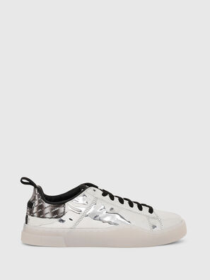 S-CLEVER LOW LACE W, Silber - Sneakers