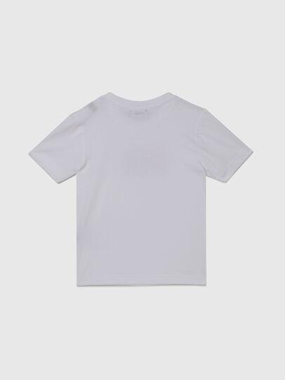 Diesel - TJUSTX62B-R, Blanc - T-shirts et Hauts - Image 2