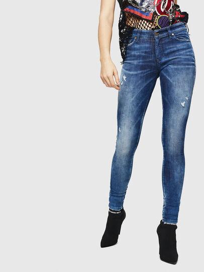 Diesel - Slandy 0090Q, Mittelblau - Jeans - Image 1