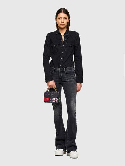 Diesel - DE-RINGY, Noir - Chemises en Denim - Image 5