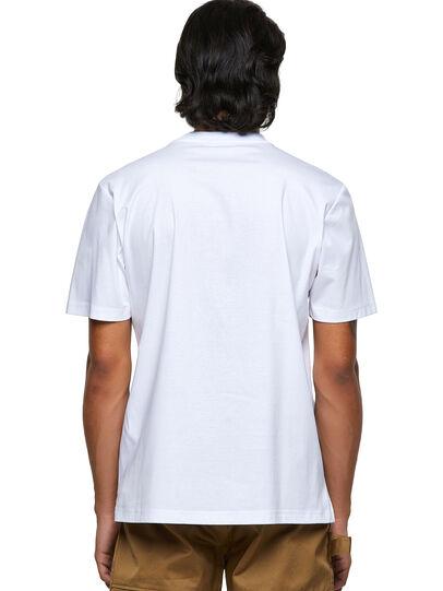 Diesel - T-JUSMER, Weiß - T-Shirts - Image 2