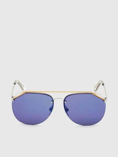 Diesel - DL0314, Weiß/Blau - Sonnenbrille - Image 1