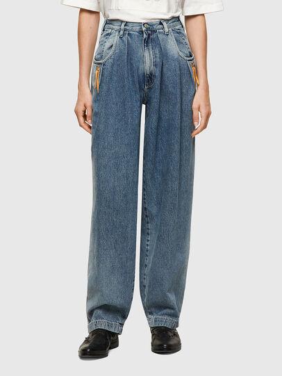 Diesel - DxD-P1 0CBBL, Blu Chiaro - Jeans - Image 2