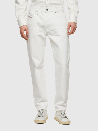 Diesel - D-Fining 0HBAJ, Bianco - Jeans - Image 1