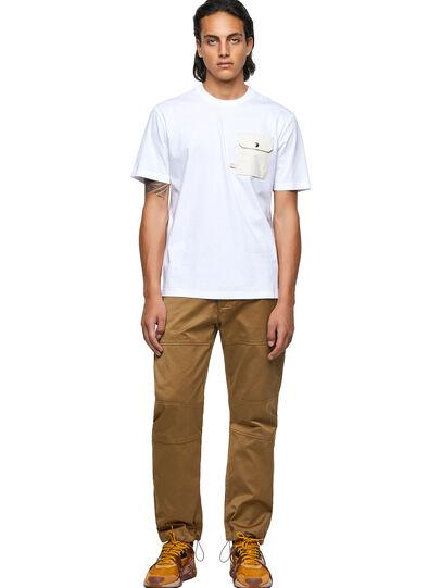 Diesel - T-JUSMER, Weiß - T-Shirts - Image 4