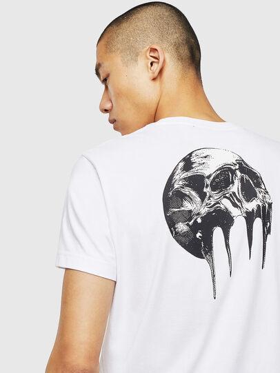Diesel - T-DIEGO-J10, Weiß - T-Shirts - Image 3