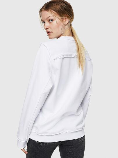 Diesel - F-LYANY-F, Weiß - Sweatshirts - Image 2
