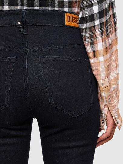 Diesel - Slandy High 009CW, Blu Scuro - Jeans - Image 4