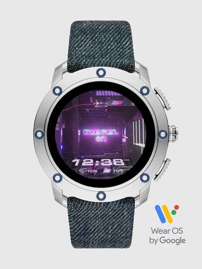 Diesel - DT2015, Jeansblau - Smartwatches - Image 1