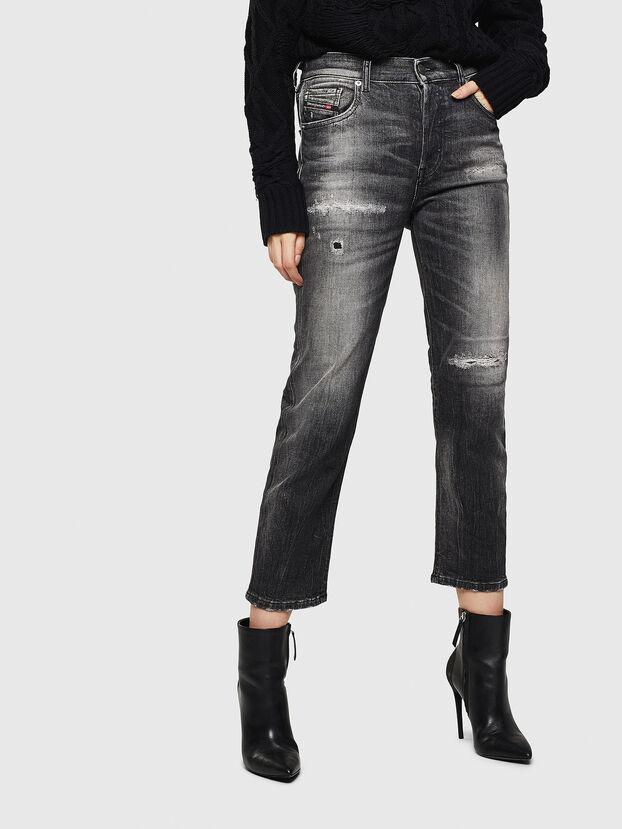 Aryel 0095J, Schwarz/Dunkelgrau - Jeans