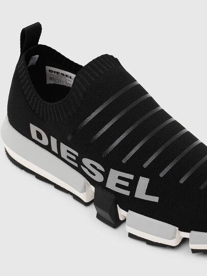 Diesel - H-PADOLA LOW SOCK, Schwarz - Sneakers - Image 6