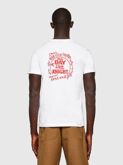 Diesel - T-DIEGOS-K15, Blanc - T-Shirts - Image 2