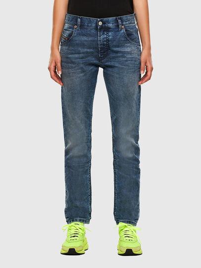 Diesel - Krailey JoggJeans 069NZ, Mittelblau - Jeans - Image 1