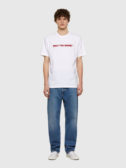 Diesel - T-JUST-E4, Weiß - T-Shirts - Image 5