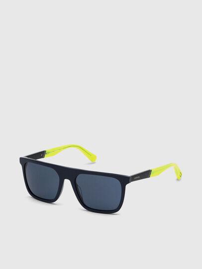 Diesel - DL0299, Blau/Gelb - Sonnenbrille - Image 2
