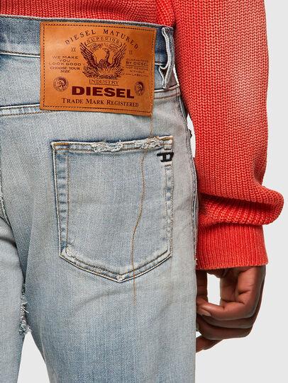 Diesel - D-Strukt 09A04, Bleu Clair - Jeans - Image 3