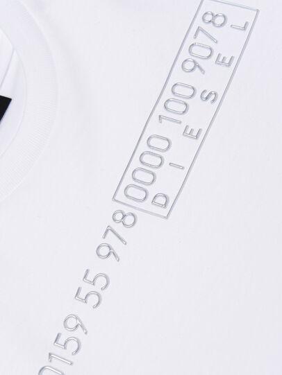 Diesel - TDIEGOSLITSJ6, Weiß - T-Shirts und Tops - Image 3