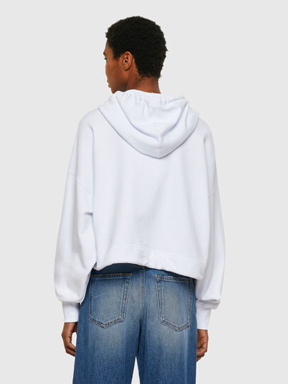 Diesel - F-CROPPY, Blanc - Pull Cotton - Image 2