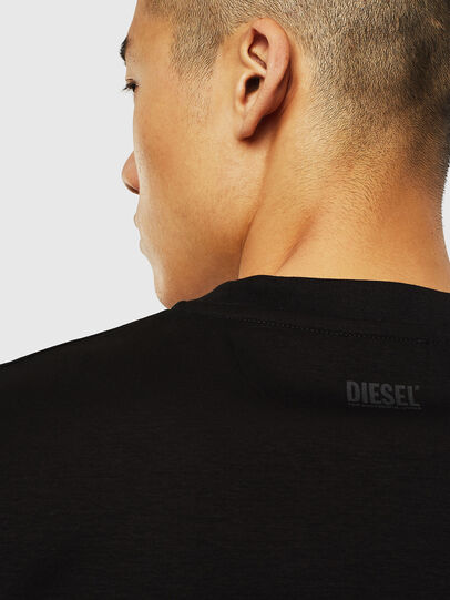 Diesel - T-JUST-J10, Schwarz - T-Shirts - Image 4