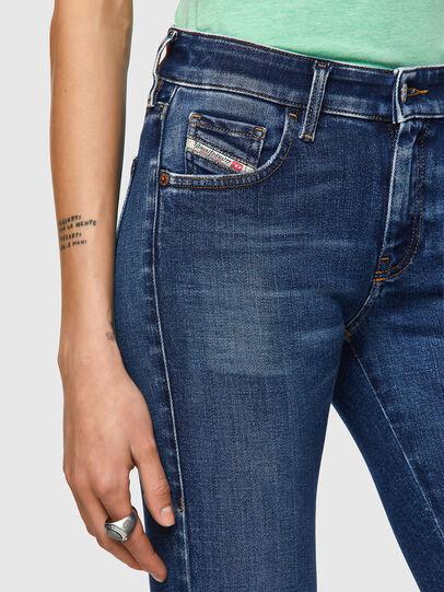Diesel - Slandy Low 009ZX, Blu Scuro - Jeans - Image 3