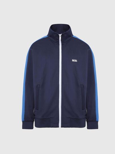 Diesel - S-KRAIM, Blau - Sweatshirts - Image 1