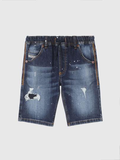 Diesel - KROOLEY-NE-J SH, Bleu Foncé - Shorts - Image 1