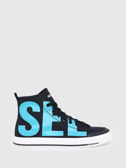 Diesel - S-ASTICO MID CUT, Nero/Blu - Sneakers - Image 1