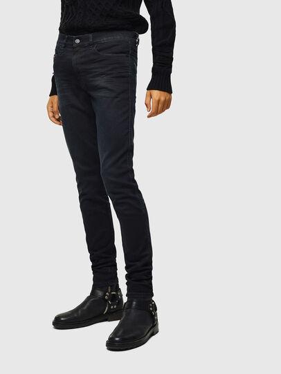 Diesel - D-Reeft JoggJeans 069KJ, Schwarz/Dunkelgrau - Jeans - Image 1