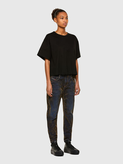 Diesel - Fayza 069RQ, Blu/Giallo - Jeans - Image 6