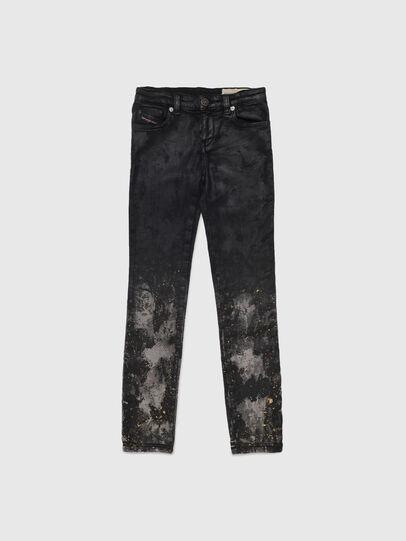 Diesel - SKINZEE-LOW-J JOGGJEANS-N, Schwarz/Dunkelgrau - Jeans - Image 1
