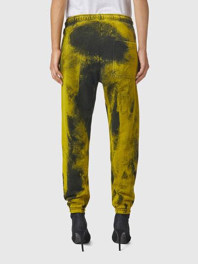 Diesel - P-CALTON-RIB-B1, Jaune/Vert - Pantalons - Image 4