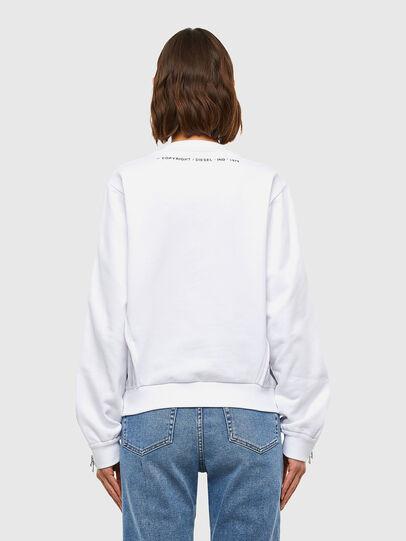Diesel - F-ROSETTA, Weiß - Sweatshirts - Image 2
