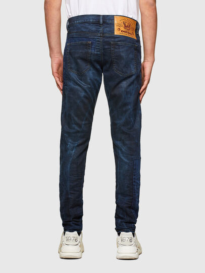 Diesel - D-Strukt JoggJeans® 069TY, Bleu Foncé - Jeans - Image 2