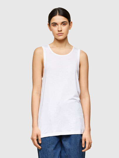 Diesel - T-ANK-A1, Weiß - T-Shirts - Image 1