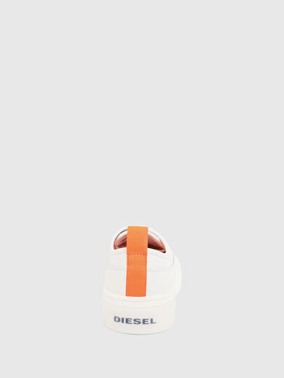 Diesel - S-VANEELA LOW, White/Orange - Sneakers - Image 4