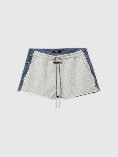 Diesel - S-PAM, Bleu/Gris - Shorts - Image 6
