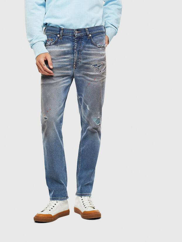 D-Eetar 009BN, Mittelblau - Jeans