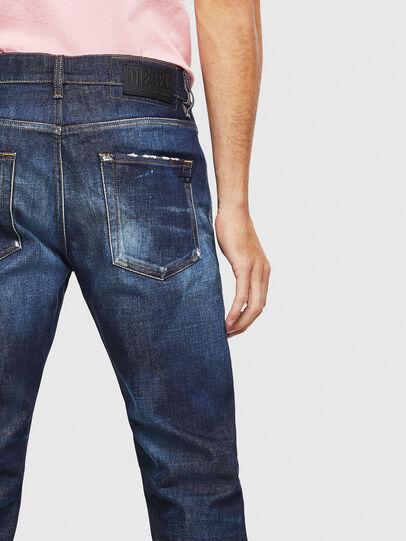 Diesel - D-Strukt 009BH, Dunkelblau - Jeans - Image 4