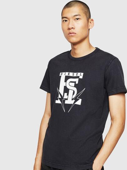 Diesel - T-DIEGO-B14, Schwarz - T-Shirts - Image 1