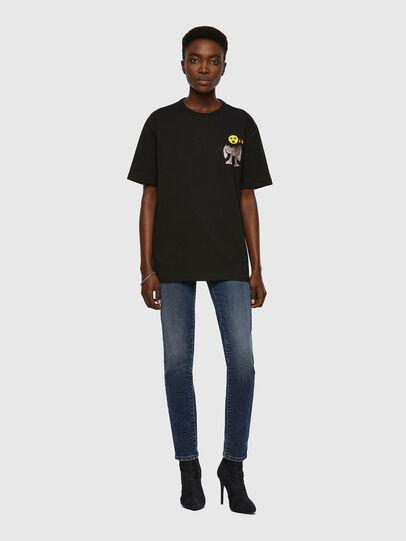 Diesel - T-BOYISH, Noir - T-Shirts - Image 4