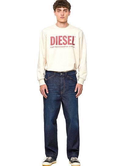 Diesel - D-Franky 09A12, Dunkelblau - Jeans - Image 5
