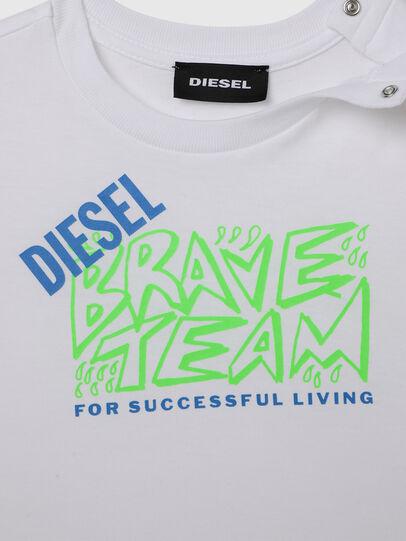 Diesel - TESSOB, Blanc - T-shirts et Hauts - Image 3