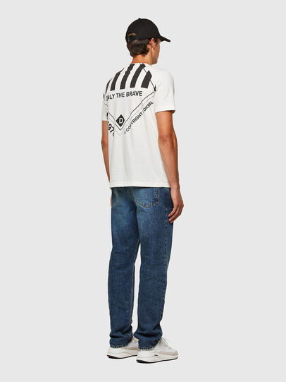 Diesel - T-JUST-N40, Weiß - T-Shirts - Image 8