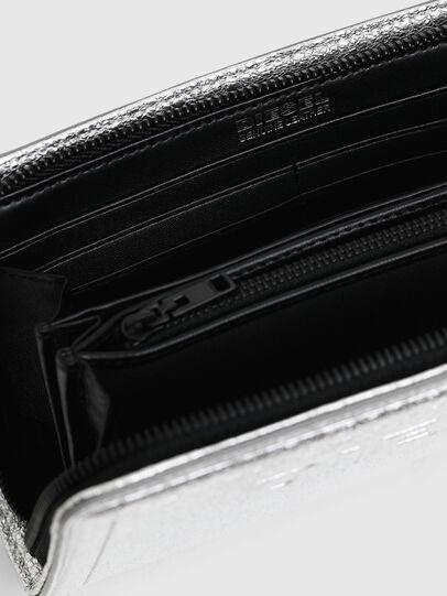 Diesel - GRANATO LCLS, Silber - Portemonnaies Zip-Around - Image 4