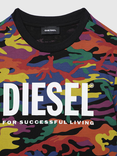 Diesel - TDIEGORBOW, Multicolore - T-shirts et Hauts - Image 3