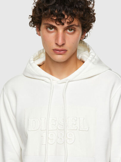 Diesel - DxD-21, Blanc - Pull Cotton - Image 4