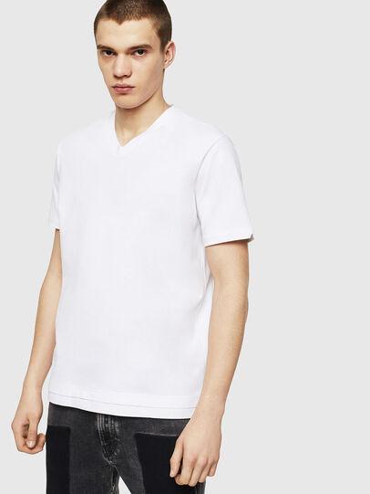 Diesel - T-CHERUBIK-NEW, Weiß - T-Shirts - Image 1
