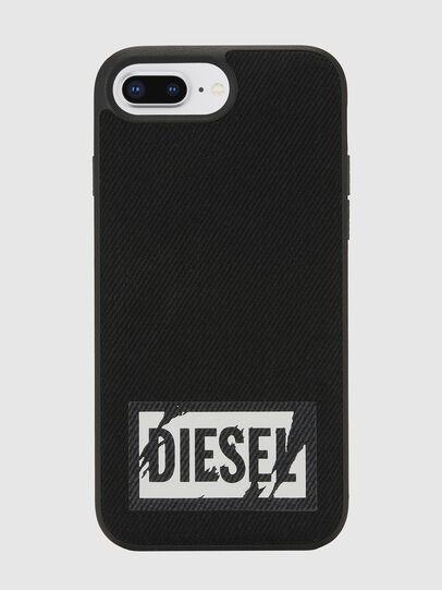 Diesel - BLACK DENIM IPHONE 8 PLUS/7 PLUS/6S PLUS/6 PLUS CASE, Schwarz - Schutzhüllen - Image 2