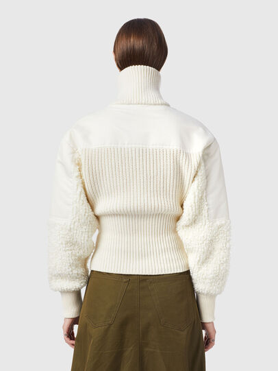 Diesel - M-WISCONSIN, Blanc - Pull Maille - Image 2