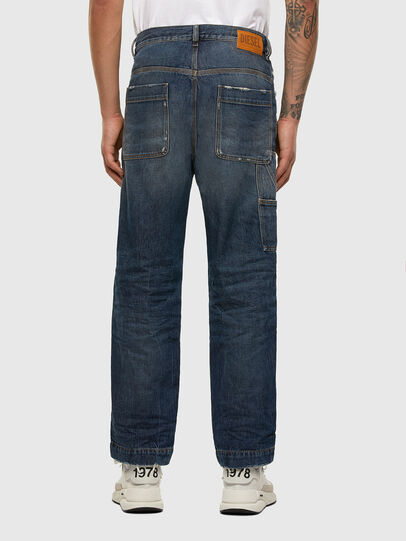 Diesel - D-Franky 009EW, Dunkelblau - Jeans - Image 2